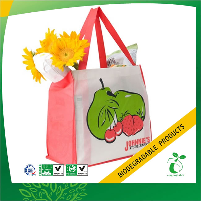 Recycled Non Woven Food Bag