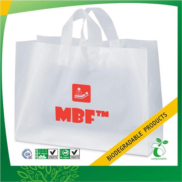 Biodegradable Loop Handle Shopping Bag