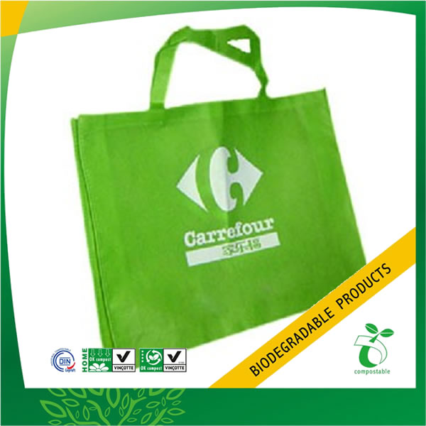 Eco-Friendly Recycled Supermarket Non Woven Shopping Bag