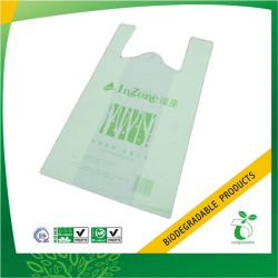 Compostable and Biodegradable Vest Plastic Handle Bag