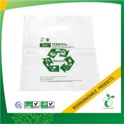 PLA / PBAT Printed Biodegradable Plastic Die-cut Bag