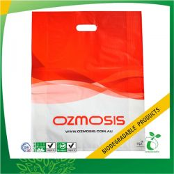Biodegradable Plastic Die Cut Bag