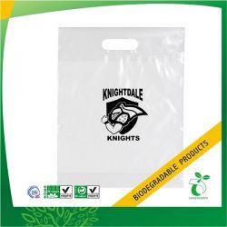 Custom PLA Biodegradable Die Cut Bag