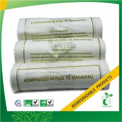 Oxo-biodegradable Bioplastic Garbage Bag on Roll