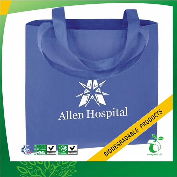 Bio-Based Advertising Non Woven Reusable Bag
